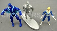 Marvel Fantastic 4 Silver Surfer w/ Surf Board Black Bolt & Sue Storm ToyBiz Inc