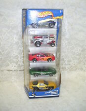 HOT WHEELS BIRTHDAY PACK 2002 SET/ 5 SUPER PAQUETE COFFRET NIP