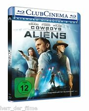 COWBOYS & ALIENS (Daniel Craig, Harrison Ford) Blu-ray Disc NEU+OVP