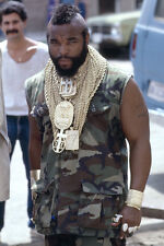 Mr. T As Sgt. Bosco B.A. Baracus The A-Team 11x17 Mini Poster Camoflage Outfit