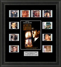 ONCE UPON A TIME IN AMERICA 1984  MOUNTED FRAMED 35MM FILM CELL MEMORABILIA
