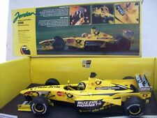 "Jordan ej10 #5 Frentzen ""Deutsche post Edition"" 2000, Hot wheels 1:18, OVP"