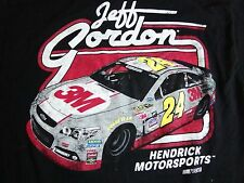 Jeff Gordon NASCAR #24 Hendrick Motorsports Racing Soft T Shirt XL