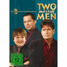 Two and a half Men-komplette 6 Staffel - Neu+Versiegelt - Charlie Sheen @L2@