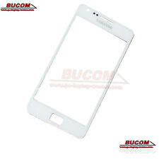 Samsung GALAXY s2 SII FRONT GLASS PANEL VETRO ANTERIORE DISPLAY VETRO BIANCO WHITE