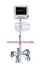 Rolling stand for comen c50 c60 c80 PATIENT monitor (big wheel) NEW IN USA