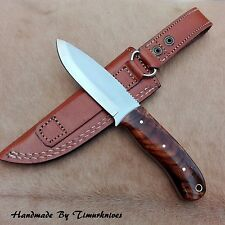 8 INCH CUSTOM MADE 1095 H.C STEEL BUSHCRAFT KNIFE|SCANDI GRIND|TIMURKNIVES