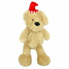 Good boy Large Festive Plush Raggy Dog Low stuffing Christmas toy Xmas gift pup
