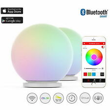 PLAYBULB Sphere Smart Waterproof  LED Glass Orb Floor Night Lights Color Lamp