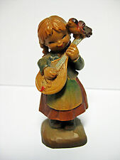 "Vintage ANRI Ferrandiz Miniature ""Melody For Two"" Handcarved Figurine"