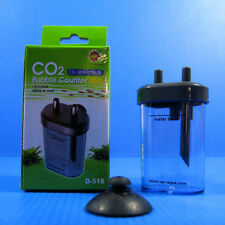 2pc Aquarium Co2 Bubbles Counter -Solenoid Regulator Diffuser Atomizer Fish Tank