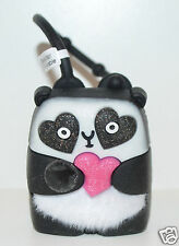 NEW BATH BODY WORKS PANDA LIGHT UP HEART POCKETBAC HOLDER SLEEVE SANITIZER CASE