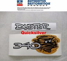 1970 1972 Plymouth Duster 340 Taillight Panel Decals NEW