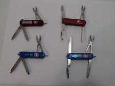 Swiss Army Victorinox Knife Manager and Classic Lite with Red LED