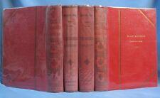 """4 Reliures du Journal """"L'ÉCOLIER ILLUSTRÉ"""" / Années 1906, 1907, 1909, 1913"""