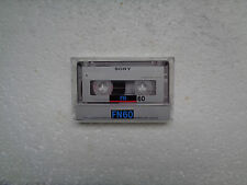Vintage Audio Cassette SONY FN 60 From 1988 - Fantastic Condition !!
