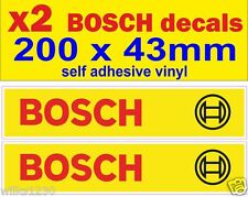 x2 BOSCH decals car van bus truck bike sticker self adhesive vinyl motorbike vw