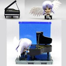 Cute Anime Angel Beats Kanade Tachibana Piano Nendoroid Figure 10cm New No Box