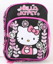 The New Hello Kitty Flower Girls  10'' Mini Backpack Kids Mini School Book Bag