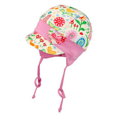 100% Cotton girls sun hat with UV +50 SUN PROTECTION Spring - Summer