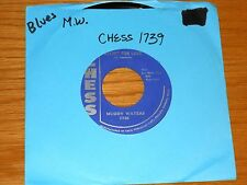 "BLUES 45 RPM - MUDDY WATERS - CHESS 1739 - ""RECIPE FOR LOVE"" + ""TELL ME BABY"""