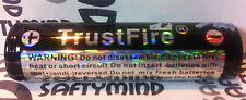 Brand New TrustFire Protected 18650 Rechargeable Battery 3.7V, 2600mAh, w/PCB