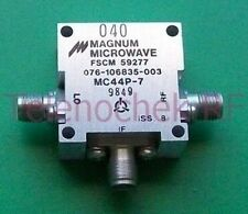 Magnum Microwave double balanced mixer, 3-11 GHz RF, DC-2000 MHz IF, with data