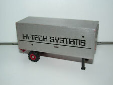TRANSFORMERS KO MOTORIZED ROBOT 'HI-TECH SYSTEMS TRAILER' 1980s MCTOY