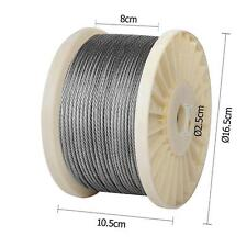7 x 7 316 Marine Balustrade Decking Stainless Steel Wire Rope Cable 200M 3.2mm