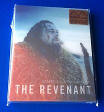 The Revenant Manta Lab Blu ray Steelbook Lenticular FLAWLESS MINT!