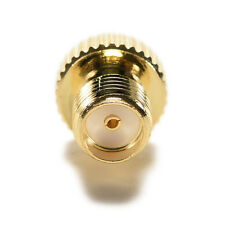 1xGold plating Adapter TS9 male plug to SMA female jack RF connector straight MW