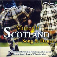 THE MUSIC OF SCOTLAND - SONG & DANCE - VARIOUS ARTISTS (NEW SEALED 2CD)