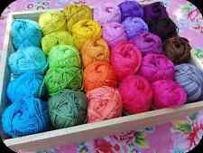 Gomitolo di Lana Filati gomitoli lana per ferri uncinetto maglia colore AZZURRO
