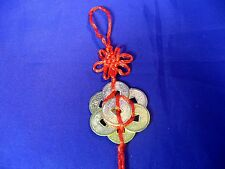 FSH031 Feng Shui I-Ching Chinese Ba Bao Eight Treasure Coins in Circle Amulet