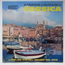 Canzone e guitare di Corsica REGINA BRUNO ANTOINE BONELLI CHARLES ROCCHI KVP 175