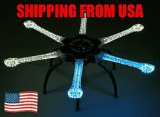 H550 V4 Pro LED Hexcopter Frame with Integrated PCB 550mm (Blue, White)