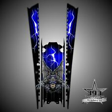 "2016 POLARIS AXYS 163"" Tunnel Decal Sticker Wrap Graphics Guardian Blue"
