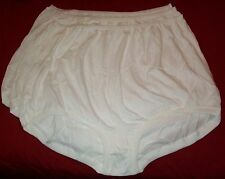 3 Pair 100% COTTON  BAND LEG PANTY Size 15 White Carole