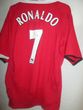 Manchester United 2004-2006 Home Cristiano Ronaldo Football Shirt Size XL 21837