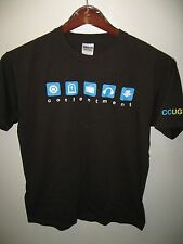 Contentment CCUGWS Christianity Religion Chrisitian Technology Geek T Shirt Med