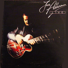 JAN AKKERMAN Live UK Press Atlantic K 50560 1978 LP