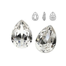 Swarovski 4320 Pear-shaped (drop) 10 mm Crystal (price for 1 piece)