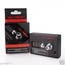 Coil Master 2in1 Ohm Meter Volt Tester | Authentic Original 510 Coil Reader RDA