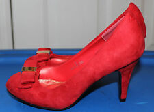 DBDK Fashion Women's Red Hih Heels Pump Shoes Sz: 6.5