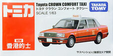 TOMY TOMICA TOYOTA Crown Comfort Hong Kong Taxi red 1 : 63