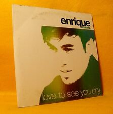 Cardsleeve Single CD Enrique Iglesias Love To See You Cry 2TR 2002 Pop Latin