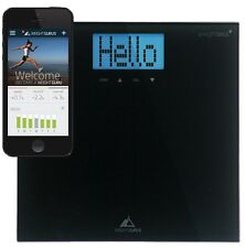 Weight Gurus Digital Bathroom Scale with Large Backlit LCD and Smartphone