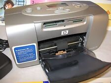 rmk99 HP Photosmart 130 Picture Printer W/  Soft Carry Case Glossy Printer Paper