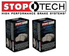 NEW BMW E30 E36 E46 E86 E90 Front and Rear Street Brake Pads Set Kit StopTech