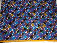 VTG 1987 LIBERTY TZARA  VARUNA WOOL  FABRIC 23cmx137cm